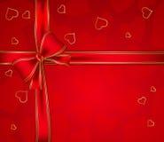 De dagachtergrond van de valentijnskaart Stock Foto