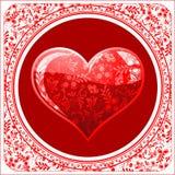 De dagachtergrond van de valentijnskaart Royalty-vrije Illustratie