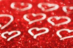 De dagachtergrond van gelukkig Valentine Stock Afbeeldingen