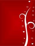 De dagachtergrond van valentijnskaarten Stock Afbeelding
