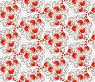 De dagachtergrond van Valentine met harten Stock Afbeelding
