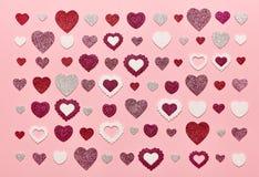 De dagachtergrond van Valentine ` s royalty-vrije stock afbeelding