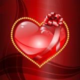 De dagachtergrond van Valentine ` s. Royalty-vrije Stock Foto