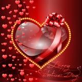 De dagachtergrond van Valentine ` s. Royalty-vrije Stock Foto's