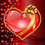 De dagachtergrond van Valentine ` s. Stock Foto