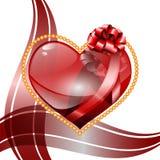 De dagachtergrond van Valentine ` s. Royalty-vrije Stock Fotografie