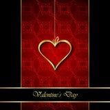 De dagachtergrond van Valentine ` s Stock Foto