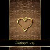 De dagachtergrond van Valentine ` s Royalty-vrije Stock Afbeeldingen