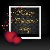 De dagachtergrond van Valentine ` s Stock Afbeeldingen