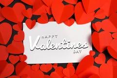 De Dagachtergrondafbeelding van Valentine stock illustratie
