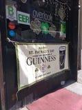 De Dagbanner van heilige Patrick ` s, NYC, NY, de V.S. Stock Foto's