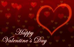 De Dagbehang van gelukkig Valentine stock afbeeldingen