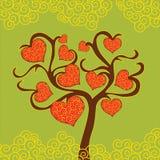 De Dagboom van Valentine Stock Foto's