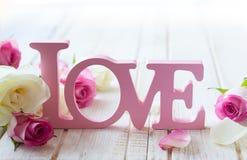 De dagconcept van de valentijnskaart stock foto's