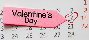 De dagconcept van de valentijnskaart Stock Afbeeldingen