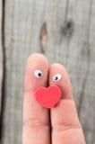 De dagconcept van de valentijnskaart Stock Fotografie