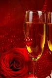 De dagdecoratie van de valentijnskaart. stock foto's