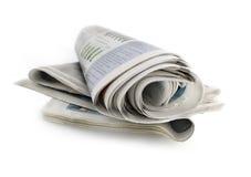 De dagelijkse krant Royalty-vrije Stock Afbeeldingen