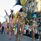 De dagen van Brazilië Royalty-vrije Stock Afbeeldingen