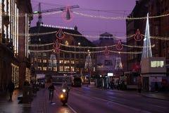 De dageraad van Amsterdam royalty-vrije stock fotografie
