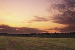 De dageraad van de herfst Royalty-vrije Stock Foto's