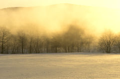 De dageraad van Maine Stock Foto's