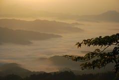 De dageraad van Shengtangshan Royalty-vrije Stock Fotografie