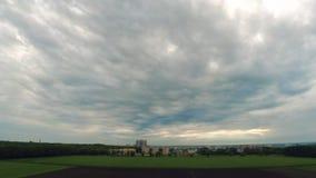 De dageraadgebied van de Taymlapsstad stock videobeelden