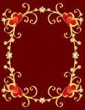 De daggrens van de valentijnskaart Royalty-vrije Stock Afbeeldingen