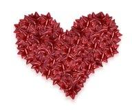 De daghart van valentijnskaarten Royalty-vrije Stock Afbeelding
