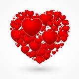 De dagharten van Valentin vector illustratie