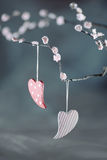 De Dagharten van Valentine Royalty-vrije Stock Afbeelding