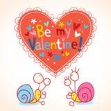 De dagkaart van de valentijnskaart Royalty-vrije Stock Foto's