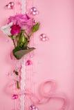 De dagkaart van de valentijnskaart Royalty-vrije Stock Foto