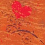 De dagkaart van de valentijnskaart. Royalty-vrije Stock Foto