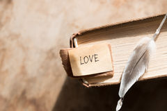 De dagkaart van LIEFDE Gelukkige Valentijnskaarten Royalty-vrije Stock Afbeeldingen