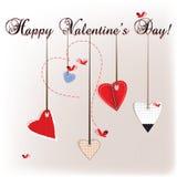 De Dagkaart van Valentine Royalty-vrije Stock Foto