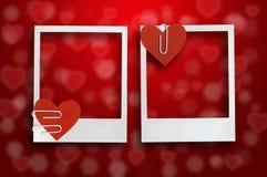 De Dagkaart van Valentine Stock Foto