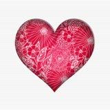 De dagkaart van Valentine ` s Stock Fotografie