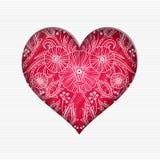 De dagkaart van Valentine ` s Stock Foto