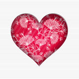 De dagkaart van Valentine ` s royalty-vrije illustratie