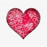 De dagkaart van Valentine ` s stock illustratie