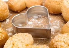 De Dagkoekjes van eigengemaakt Valentine Royalty-vrije Stock Afbeelding