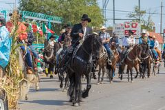 de Dagparade Chicago van de 26ste Straat Mexicaanse Onafhankelijkheid Stock Afbeeldingen