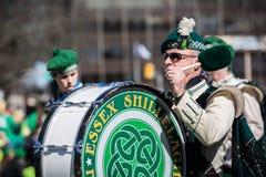 De Dagparade van heilige Patrick stock foto's