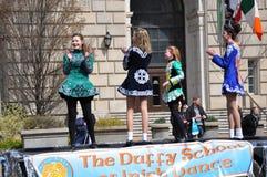 De Dagparade van heilige Patrick ` s Royalty-vrije Stock Afbeeldingen