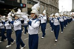De dagparade van het nieuwjaar in Londen Stock Fotografie