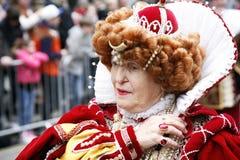 De dagparade van het nieuwjaar in Londen Stock Afbeelding