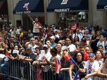De dagParade van het Puerto Ricaan Stock Foto