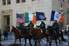 De Dagparade van New York St Patrick Stock Foto's